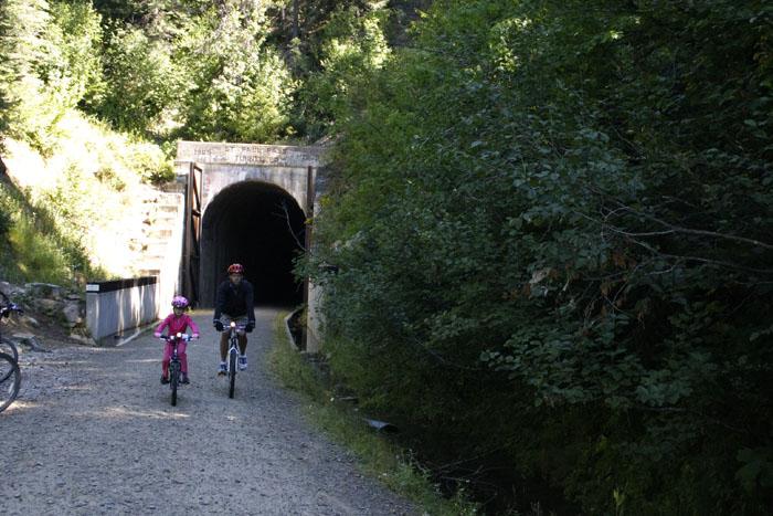 St. Paul Pass / Taft Tunnel is 1.66 Miles Long