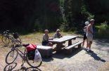 Picnic Tables Along the Way